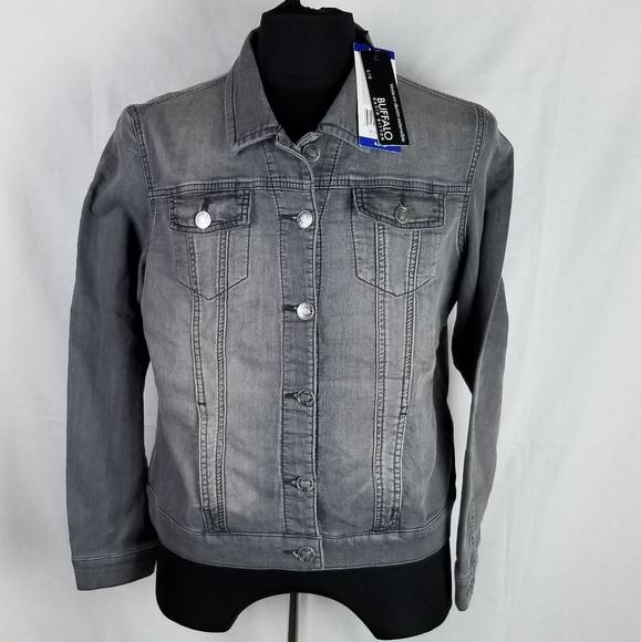 92373057fdaa Buffalo David Bitton Stretch Knit Denim Jacket L